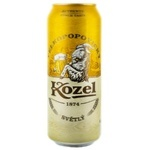 Bere blonda Kozel doza 0,5l