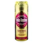 Пиво тёмное Volfas Engelman Bohemijos ж/б 0,568л