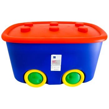Контейнерные игрушки 46л в ассортименте - купить, цены на Метро - фото 1
