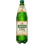 Пиво светлое Львівське ПЭТ 1,15л