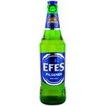 Bere blonda Efes Pilsner sticla 0,5l