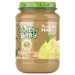 Пюре Vita Baby груша 180г