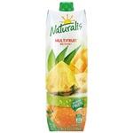 Сок Naturalis мильтифрукт 1л