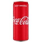 Прохладительный газированный напиток Coca-Cola ж/б 12х0,25л