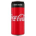 Băutură răcoritoare carbogazoasă Coca-Cola Zero 0,25l x 12buc