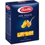 Пипе Barilla ригате из твердых сортов пшеницы 500г
