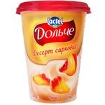 Десерт творожный Dolce персик 350г