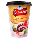 Desert de branza Dolce capsuni/kiwi/ciocolata 350g