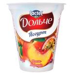 Йогурт Дольче персик/маракуйя 3,2% 280г