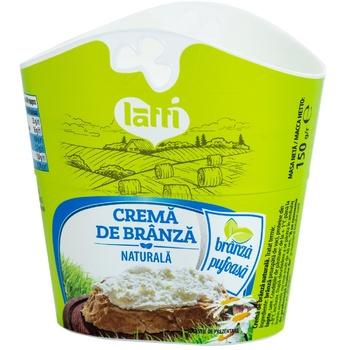 Cremă de brânză Latti 150g - cumpărați, prețuri pentru Metro - foto 1