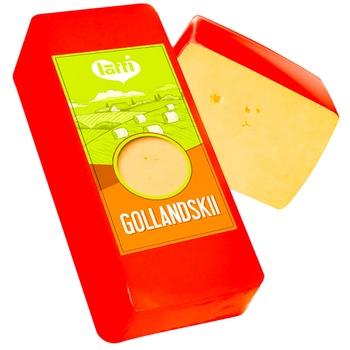 Сыр Latti Голандский - купить, цены на Метро - фото 1