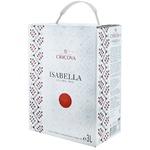 Вино Cricova National Изабелла розовое сухое bag in box 3л