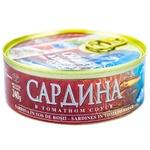 Сардина Brivais Vilnis в томатном соусе 240г