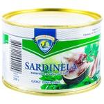 Сардинелла Морской Котик в масле 250г