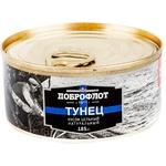 Тунец Dobroflot кусок в масле 185г