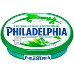 Crema de branza Philadelphia cu verdeata 125g