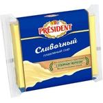 Сыр плавленый President со сливками 150г