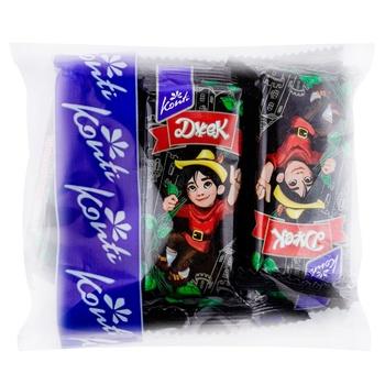 Глазированные вафли Djek 200г - купить, цены на Метро - фото 1