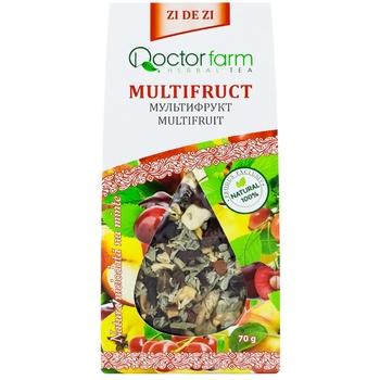 Ceai Doctor Farm din plante cu fructe infuzie 70g - cumpărați, prețuri pentru Metro - foto 3