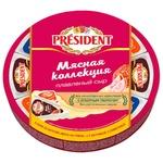 Сыр плавленый President мясная коллекция 140г