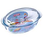 Cratita ovala cu capac Pyrex Essentials 4l