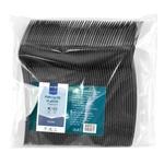 Furculite plastic Metro Professional negre 50buc
