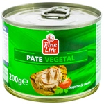 Pate vegetal Fine Life 200g