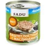 Pate vegetal cu masline Sadu 300g