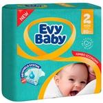 Scutece Evy Baby 3-6kg Nr2 80buc