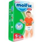Scutece Pants Molfix nr.5 48buc