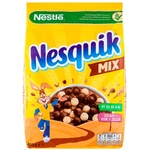 Cухой завтрак Nesquik Duo Nestle злаки 460г