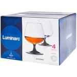 Set pahare Domino Cognac 410ml 4buc