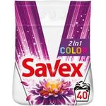 Стиральный порошок Savex Color 4kg