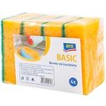 Губки кухонные ARO Basic 4шт