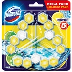 Odorizant WC Domestos Lemon 3x55g