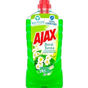 Средство Ajax Flower spring для мытья полов 1л - купить, цены на Метро - фото 1