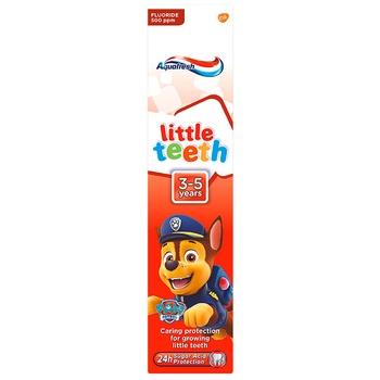 Детская зубная паста Aquafresh 50мл - купить, цены на Метро - фото 2