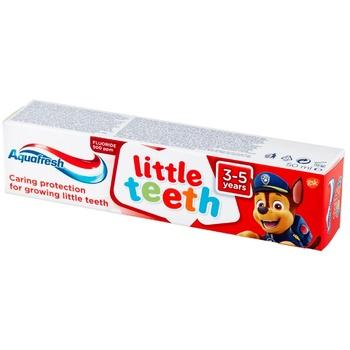 Детская зубная паста Aquafresh 50мл - купить, цены на Метро - фото 1