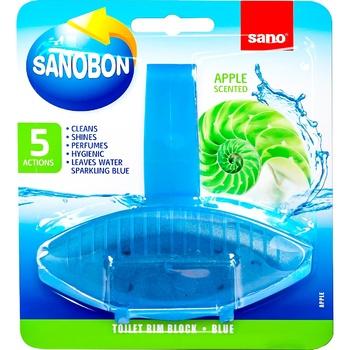 Средство для унитаза Sano apple 55г - купить, цены на Метро - фото 1