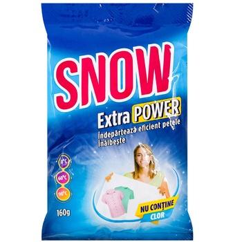 Отбеливатель Snow 160г - купить, цены на Метро - фото 1