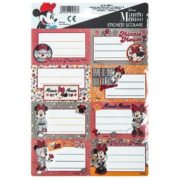 Этикетки Minnie 5 штук - купить, цены на Метро - фото 1