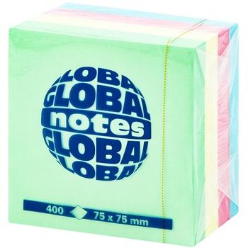 Info notes 4*75x75мм 100 листов Neon - купить, цены на Метро - фото 1