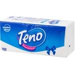 Servetele Teno albe 1 strat 24x26cm 200buc