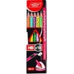 Набор карандашей с ластиком 12шт