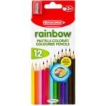 Fibracolor Rainbow creioane color 12buc