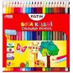 Creioane colorate Fatih 24 culori