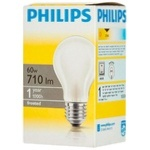 Philips A55 Frost E27 60W 230V