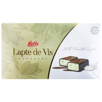 Шоколадные конфеты Nefis Lapte de Vis в коробке 190г - купить, цены на Метро - фото 1