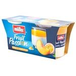 Iaurt Fruit Passion Muller Piersici/Maracuja 2buc x 125g