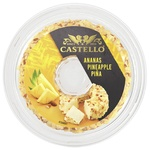 Cremă de brânză Castello Ananas 125g
